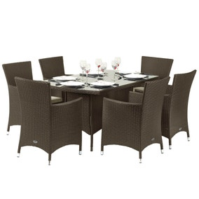 Royal Craft Cannes 7 Piece Dining Set