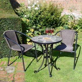 Orba 2 Seat Bistro Set with San Luca Chairs
