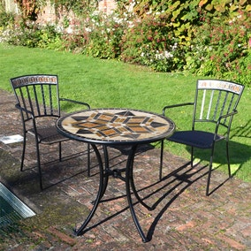 Dalton 2 Seat Bistro Set with Kingswood Chairs