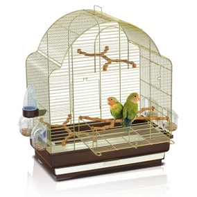 Brown Elisa Bird Cage