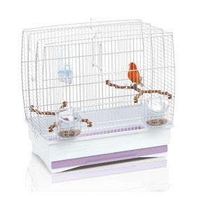 White Irene 2 Bird Cage