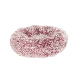 Fluffies Pink Cat Cushion Bed