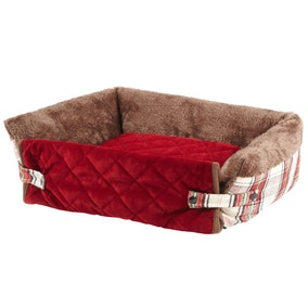 Bunty Red Stirling Sofa Bed