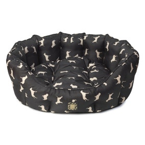 House of Paws Waterproof All Over Print Dog Bed