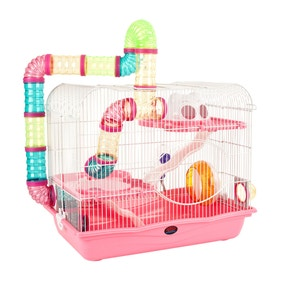 Harvey Pink Hamster Cage