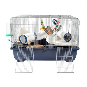 Ricky Rat and Rodent Cage