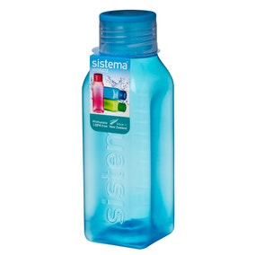 Sistema 475ml Square Bottle Assorted Colours
