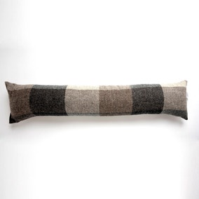 Heritage Check Grey Draught Excluder