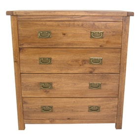 Carter 4 Drawer Wide Chest