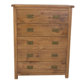 Carter 5 Drawer Wide Chest