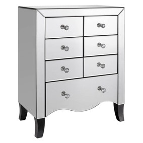 Chest Of Drawers White And Oak Chest Of Drawers Dunelm
