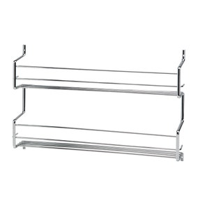 Hahn Metro Double Row Wall or Cupboard Spice Rack
