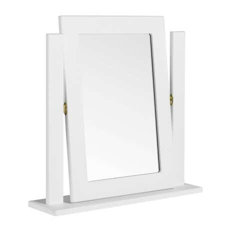 Calando White Dressing Table Mirror. Loz_exclusively_online