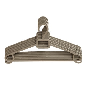 Pack of 6 Gold Hangers