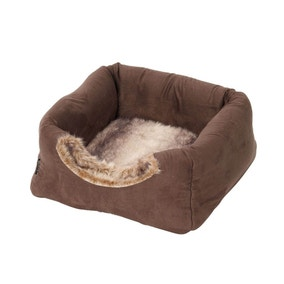 Coco Faux Suede Cat Bed