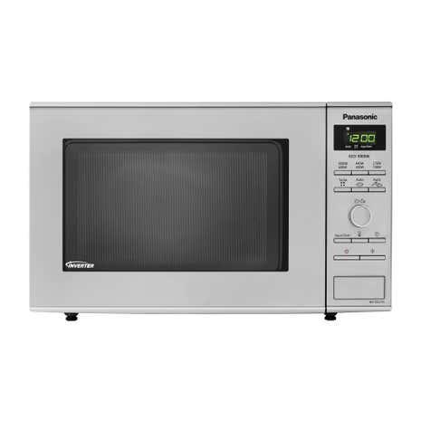 Panasonic Nn Sd27hsbpq 1000w 23l Solo Stainless Steel Microwave