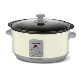 Morphy Richards 460010 3.5 Litre Ivory Cream Slow Cooker