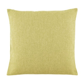 Essentials Large Barkweave Green Cushion