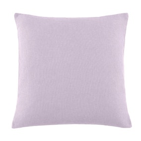 Essentials Large Mauve Barkweave Cushion