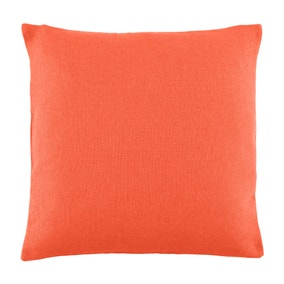 Essentials Barkweave Terracotta Cushion