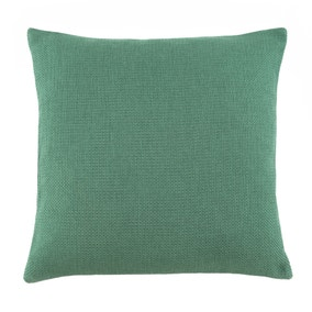 Essentials Barkweave Forest Green Cushion
