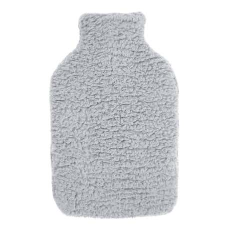 Teddy Bear Grey Hot Water Bottle