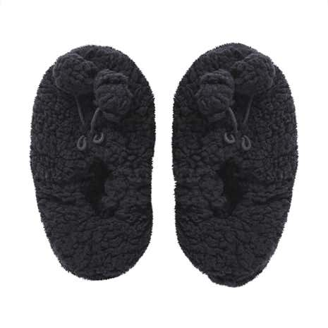 Black Cosy Footlet