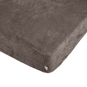 Teddy Bear Taupe Fitted Sheet