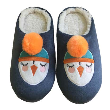 Penguin Mule Slippers