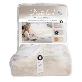 Dreamland Faux Fur Heated Mattress Cover