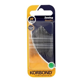 Korbond Pack of 20 Sewing Needles