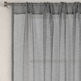 Lille Grey Slot Top Voile Panel