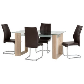 Milan 4 Seater Dining Set