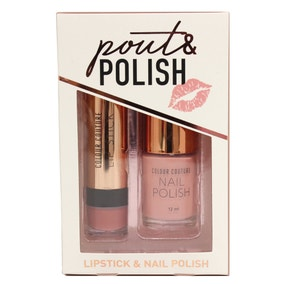 Colour Couture Nude Pout & Polish Set