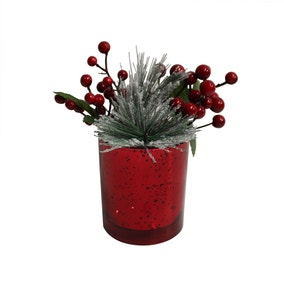 Red Fir and Berries Planter
