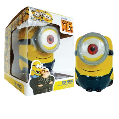 Despicable Me 3D Stuart Minion Mug
