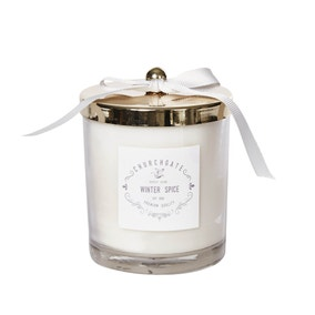 Winter Spice Gold Lid Candle
