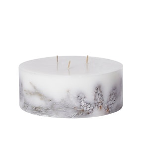 Large 3 Wick Nordic Spruce Inclusion Candle