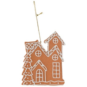 Gingerbread House Hanging Decoration