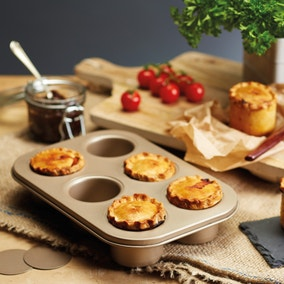 Paul Hollywood 6 Hole Pork Pie Tin