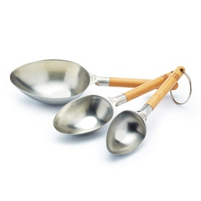 Paul Hollywood Set of 3 Stainless Steel Measuring Cups