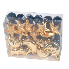 Pack of 50 Assorted Navy Decorations