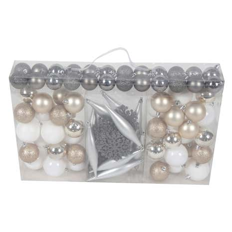 Multi Pack of 100 Baubles
