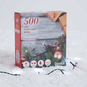 Set of 500 White String Lights