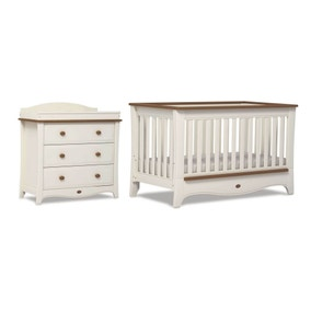 Boori Provence Ivory and Honey Two Piece Room Set
