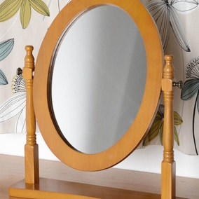Contessa Natural Dressing Table Mirror
