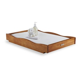 Izziwotnot Bailey Oak Cot Top Changer