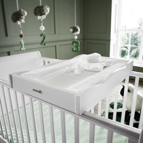 Izziwotnot Bailey White Cot Top Changer