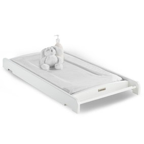 Izziwotnot Tranquillity White Cot Top Changer
