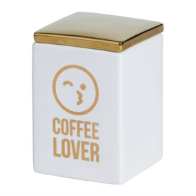 Emoji Coffee Canister